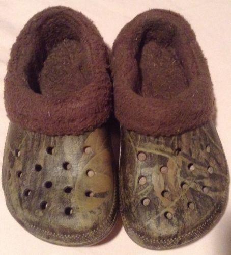 7bddd3593adf Fur Lined Crocs  Clothing