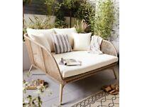 Gardenline Rope Effect Snug Seat Sofa Chair ✅BRAND NEW✅