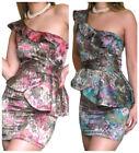 Satin One Shoulder Dresses