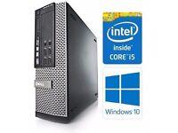 Dell OptiPlex 7010 Intel Core i5 3.20 3rd Gen 8GB RAM 320GB Window 10 Wifi dvdrw