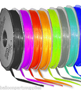 3mm-x-50m-Double-Faced-Satin-Ribbon-30-Colours-FreePost
