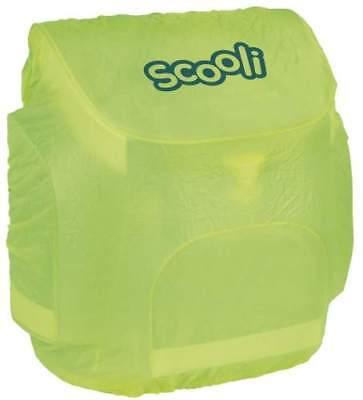 Scooli Regenschutzhülle  gelb Rucksack Ranzenhülle Regenschutzhaube Kinder