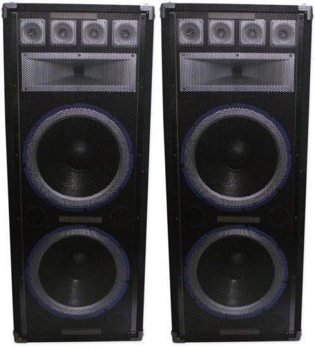Technical Pro Speakers Ebay
