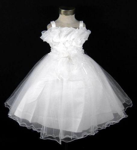 Ivory Flower Girl Dress 3t Ebay