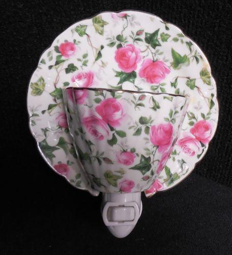 Tea Cup Night Light Ebay