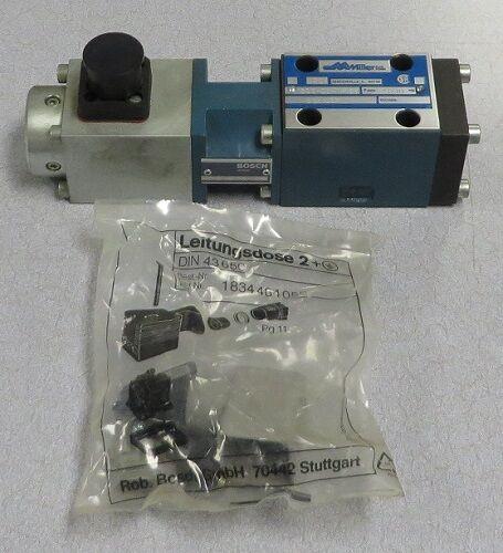 MILLER FLUID POWER Directional Control Valve M/N: 583-E3RV-155