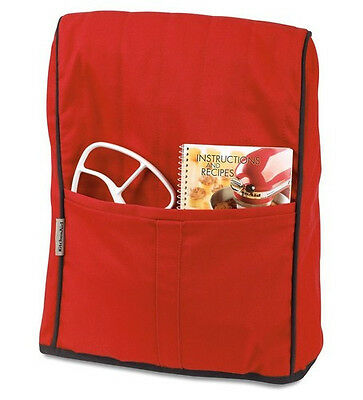 Cover Fits All Stand Mixers (New KMCC1ER KitchenAid Cloth Cover Fits All Artisan&Lift Stand Mixers Empire Red )