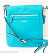 Coach Swingpack Blue