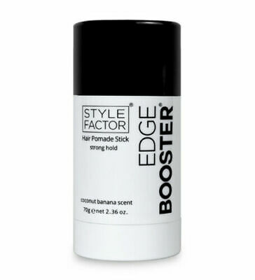 Style Factor Edge Booster Hair Pomade Stick 2.36OZ #COCONUT (Coconut Pomade)