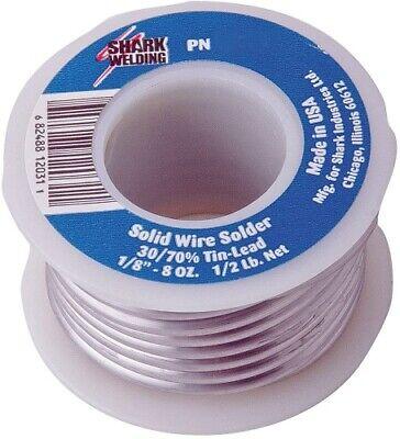 Shark Industries Solid Wire Solder- 332 5050 - 14 Lb Spool