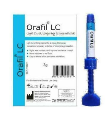 Prevest Denpro Orafil Lc Light Cure Temporary Filling Material For Dental 3g
