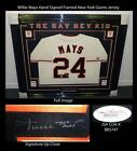 Willie Mays Signed Jersey