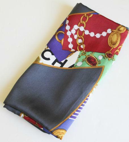 chanel chain scarf scarves wraps ebay