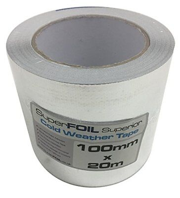 Superior Foil Tape 100mm by 20m for SuperFOIL Multifoil Insulation