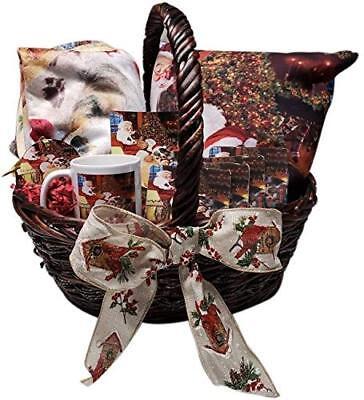 The Ultimate Dog Lover Christmas Holiday Gift Basket Puggle Dogs