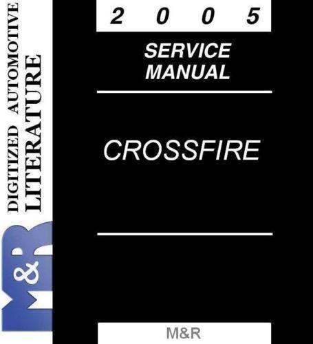 Chrysler Crossfire Service Manual