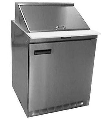 Delfield 4432n-12m 32 Refrigerated Mega Top Salad Prep Table Cooler W 12 Pans