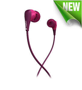 Logitech Ultimate Ears 200 Noise-Isolating Earphones Purple ** NEW ** 985-000140