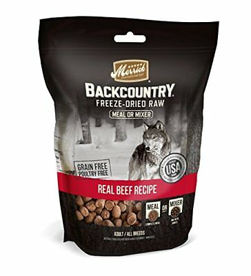 Merrick 1 Pouch Backcountry Freeze Dried Meal Mixer - Beef Recipe 5.5 oz