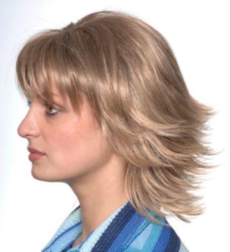 Short Straight Flippy Style Wig W Bangs Breezy Ultra Comfort Cap Bonita Ebay