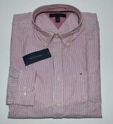 Red White Striped Shirt Long Sleeve