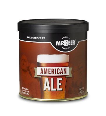 $15.89 - Mr. Beer American Ale Home Brewing Beer Refill Kit, New, Free Shipping