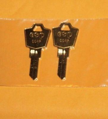 M001-M165 2 KEYS  FOR Meridian / Herman Miller File Cabinet Office Furniture Key - Office Furniture File