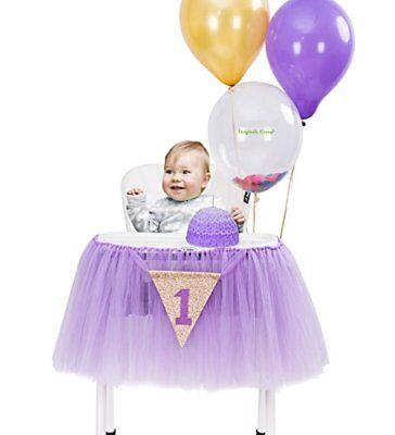 Originals Group 1st Birthday Frozen Tutu for High Chair Party Decor (High Chair Tutu)