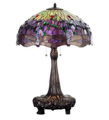 meyda tiffany lamps ebay. Black Bedroom Furniture Sets. Home Design Ideas