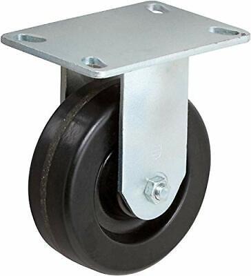 Casterhq- 4 X 2 Inch Rigid Caster - Phenolic Wheel - 800 Lbs Capacity