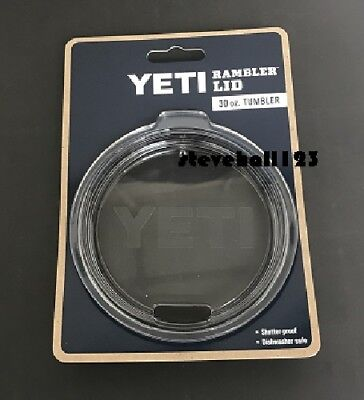 NEW  YETI RAMBLER REPLACEMENT AUTHENTIC LID  30 oz TUMBLER FAST SHIP