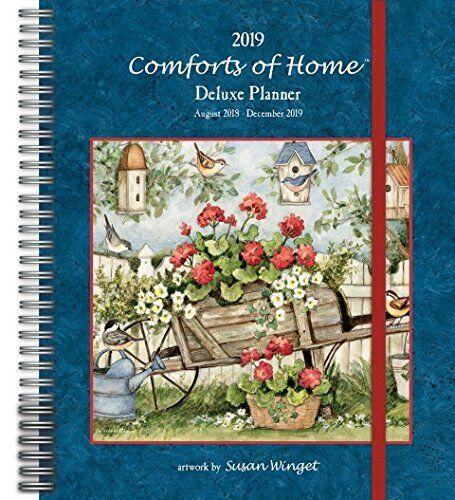 comforts of home 2019 deluxe planning calendar