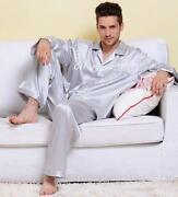 Mens Satin Pajamas
