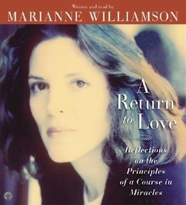 A Return to Love CD by Marianne Williamson: New Audiobook