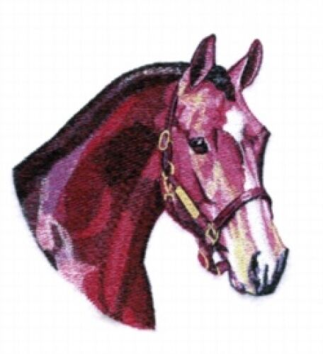Embroidered Fleece Jacket - Hunter Horse BT3999 Sizes S - XXL
