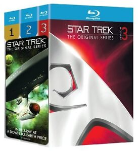 Star Trek: The Original Series Seasons 1-3 Blu Ray