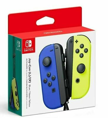 NEW Nintendo Switch Joycon Wireless Controller OEM Official Blue Neon Yellow