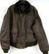 Leather Flight Jacket 46