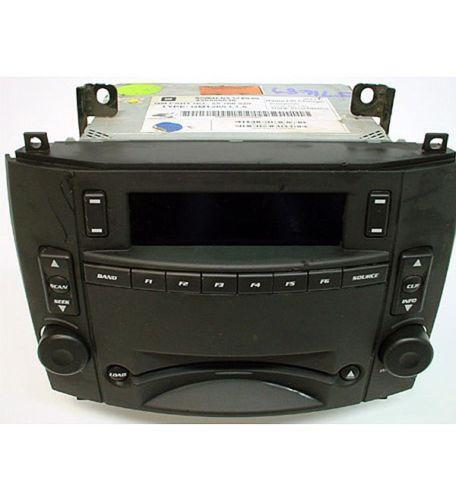 2004 Cadillac Cts Radio EBay