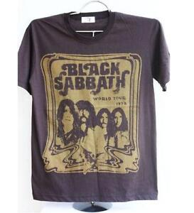 Black sabbath shirt ebay for Making band t shirts