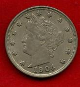 1904 Liberty Head Nickel