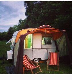 Thomson Mini Glen retro classic Caravan