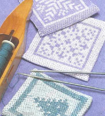 Weaver's Craft magazine #24: Mock satin damask, 8-shaft