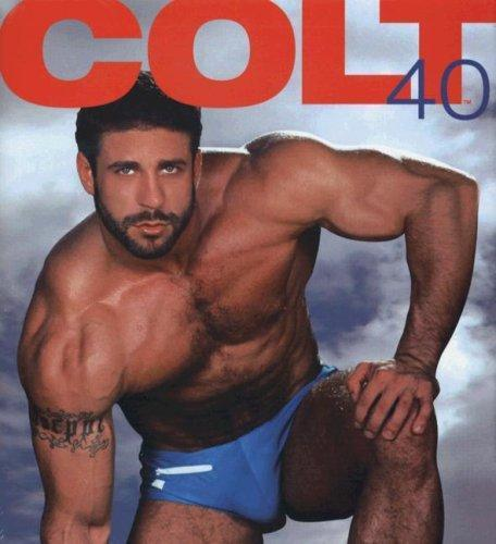 Colt 40th Anniversary Hardcover Photography of Masculine Men $123 Coffee Table