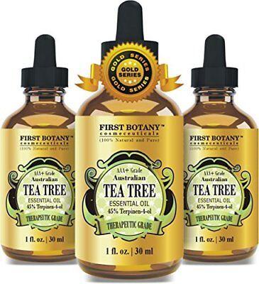 100% Pure Australian Tea Tree Essential Oil with 45% Terpine