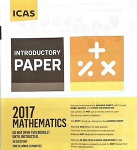 ICAS year 2, 3 and 4