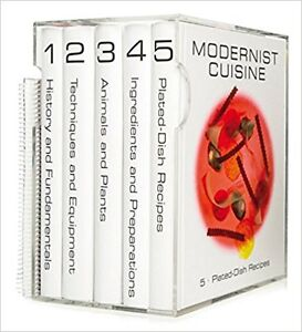 Modernist Cuisine - the art & science of cooking