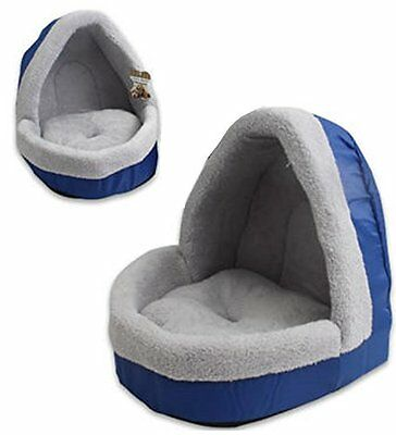 Pet Bed With Dome Ceiling Soft and Warm Comfortable Material Small/Med Dogs Cats