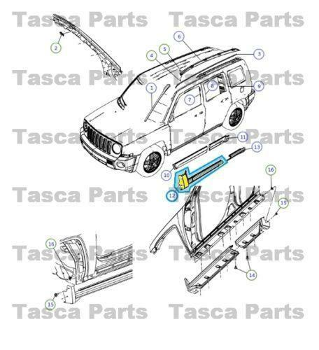 2011 Jeep Patriot Transmission: 2011 Jeep Patriot: Car & Truck Parts