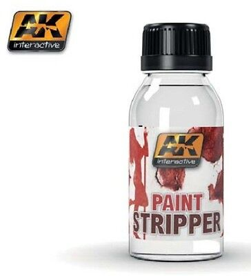 AK INTERACTIVE AK186 Paint Stripper 100ml Bottle Hobby Model Kit Paint Supplies  for sale  Shipping to Canada